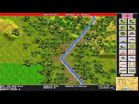 Steel Panthers: World at War gameplay (PC Game, 2000) thumbnail