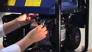 видео GEKO 85000 ED-S/DEDA S - дизель-генератор 68,0 кВт. Трехфазная дизельная электростанция 380В.