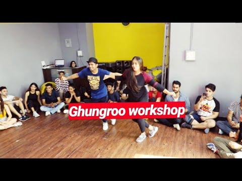 Ghungroo dance workshop | Hrithik roshan | war | Vicky & Aakanksha Mp3
