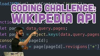 Coding Challenge #75: Wikipedia API
