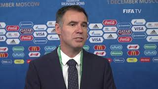 Ante Milicic – Australia - Final Draw Reaction