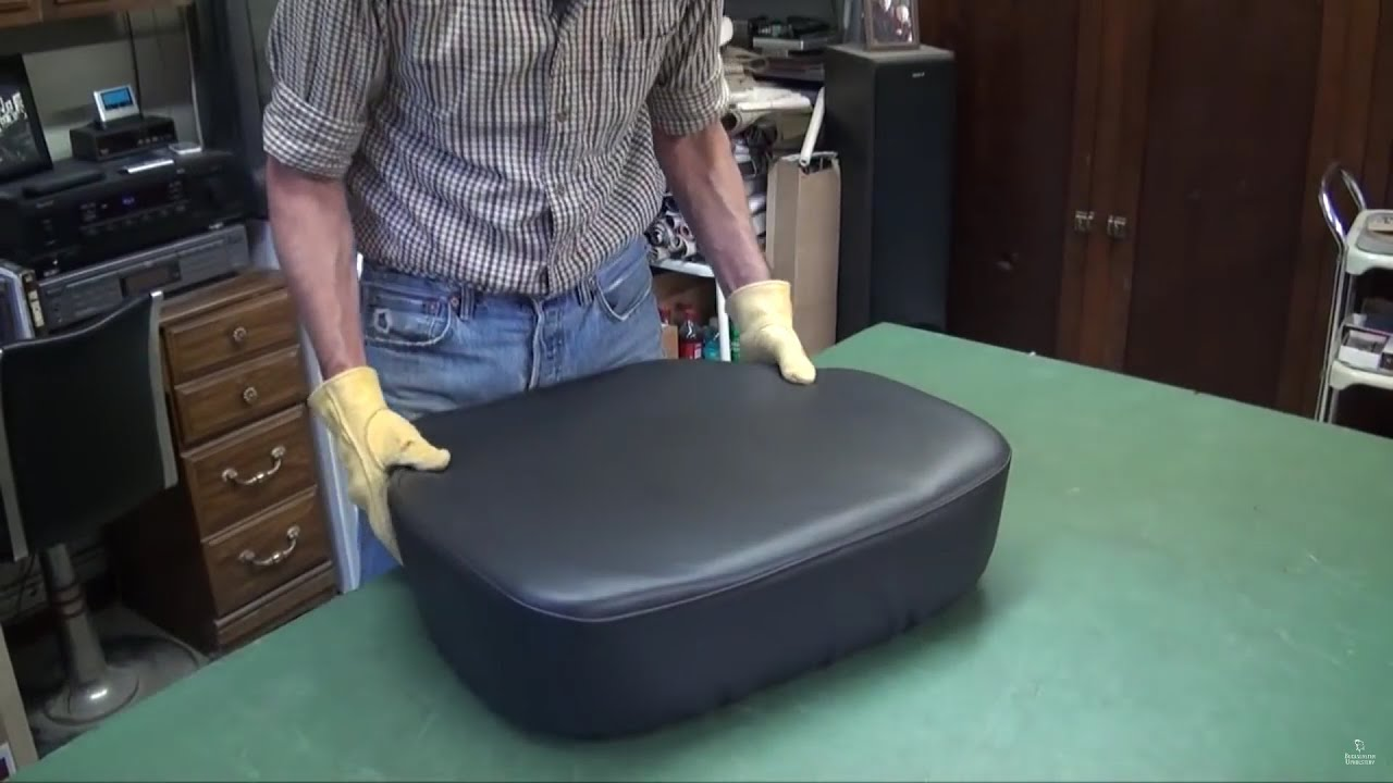 How To Reupholster >> How to Reupholster a Truck Seat - YouTube