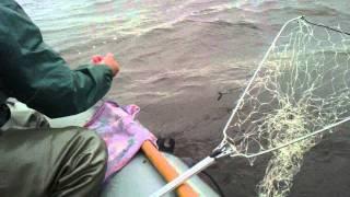 Рыбалка на кольцо в шторм