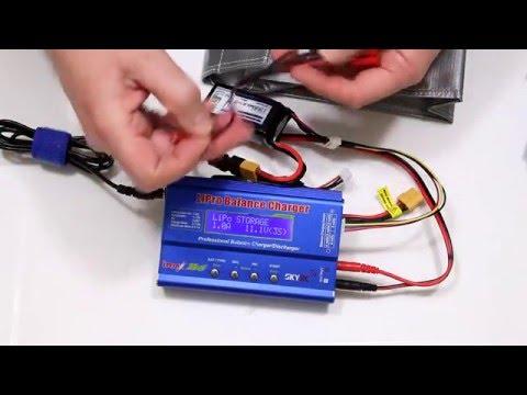 Lipo Battery Balance Charging and Care SkyRc iMAX B6