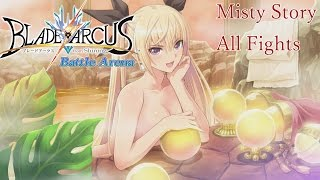 Misty Story Mode Walkthrough - Blade Arcus from Shining: Battle Arena [English, Full 1080p HD]