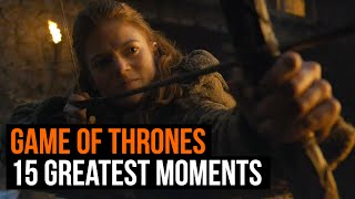 15 greatest game of thrones moments ever (seasons 1 - 6)