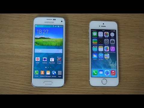 Samsung Galaxy S5 Mini vs. iPhone 5S - Review (4K)