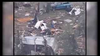 Massive Tornado Levels Neighborhood in Shawnee Oklahoma