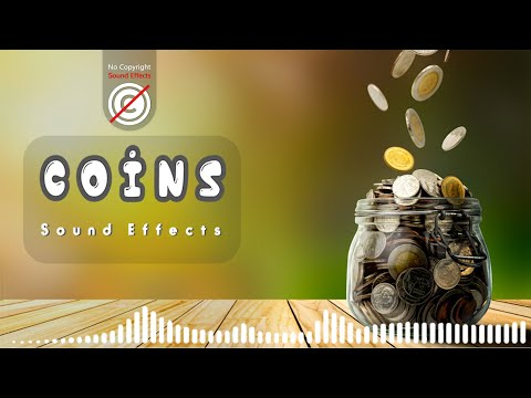 Coins sound effect no copyright | coins falling sounds | HQ