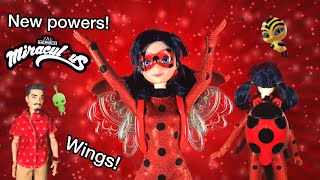New Ladybug Wings Flying Miraculous Ladybug Season 2 Doll Ladybug Doll Light Up Wings