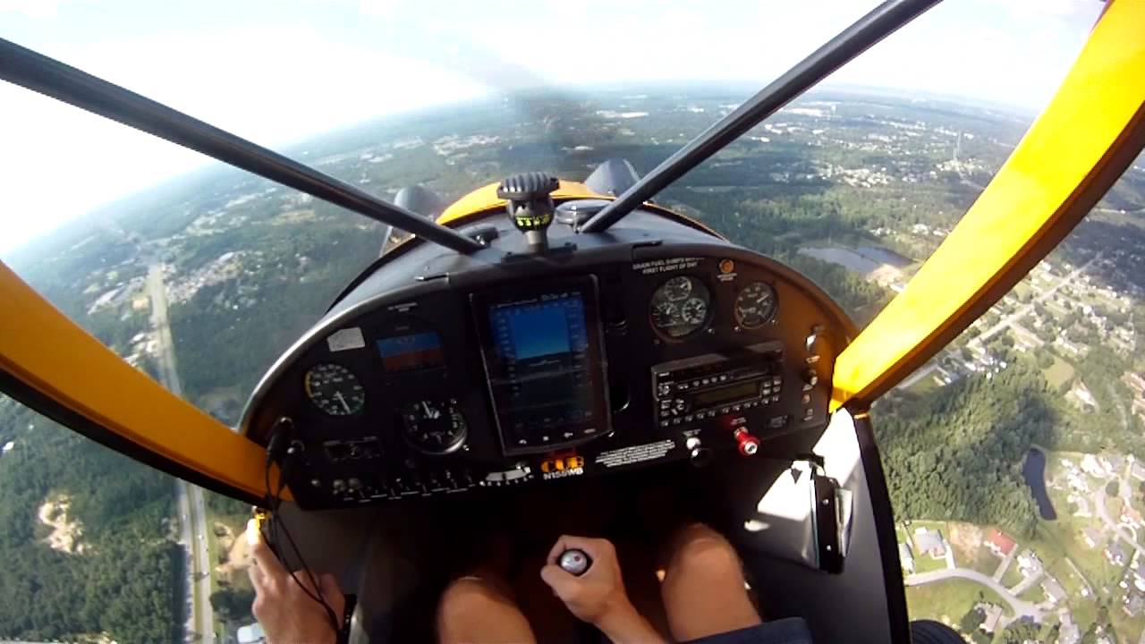 Legend Cub Flying Over Pensacola Fl Youtube