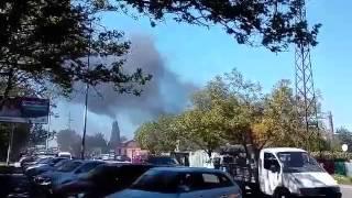 Пожар на Малиновского