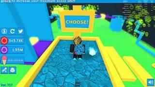 Faccio tutto Obby in Ice Cream Simulator [Roblox]