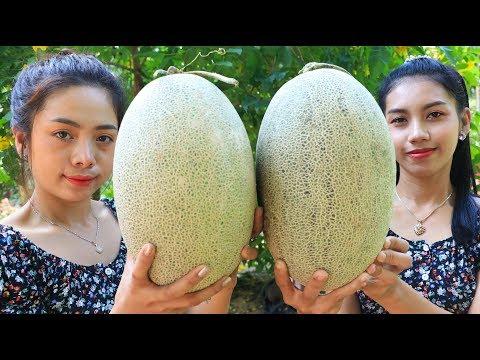 Yummy cooking dessert Melon recipe - Natural Life TV
