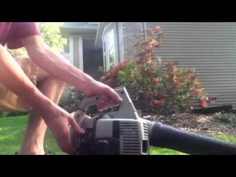 echo es 210 leaf blower shred n vac youtube rh youtube com Echo Model 210 Parts Echo Model 210 Parts
