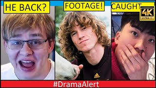 CallMeCarson Comes Back? #DramaAlert-  Danny Duncan ( FOOTAGE! ) RiceGum CAUGHT in 4k! Jake Paul