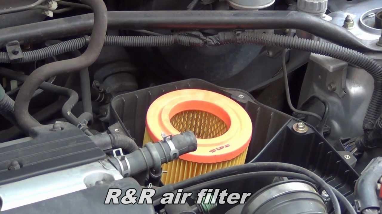 Honda Fuel Filter 2007 Replace Air Filter On Honda Cr V Youtube