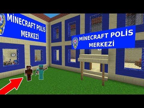 ZENGİN POLİS KARAKOLU YAPTIRIYOR! 😱 - Minecraft