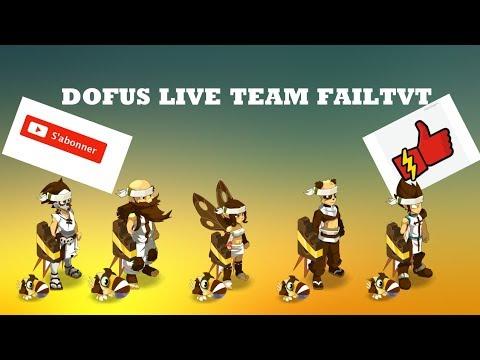 [DOFUS]Live team on farm les 12 traveaux Hyrkul dj croca