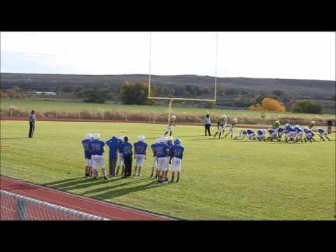 Lovell Middle School 8th Grade Football vs. Rocky Mountain