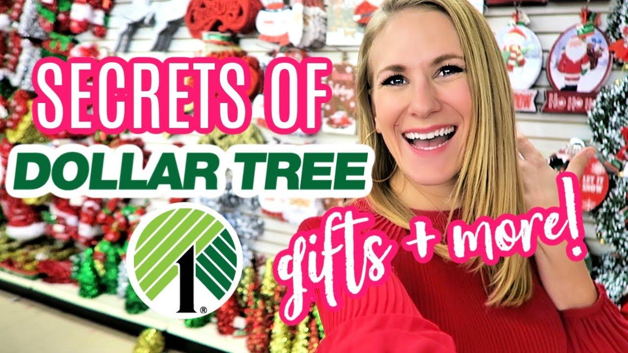 Dollar Tree Shopping Secrets For Christmas Gift Ideas Diy More