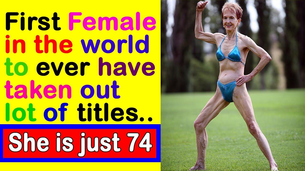Bodybuilder | 74 year old Janice Lorraine | World first
