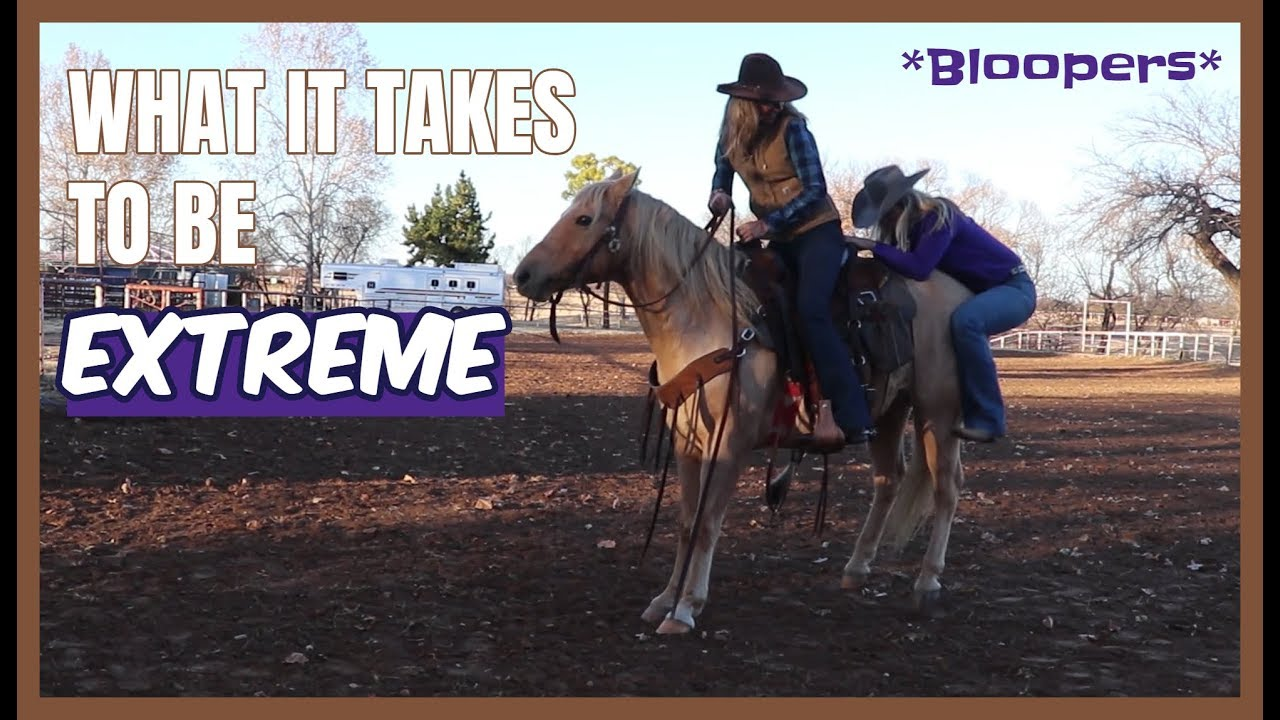 EXTREME... * BLOOPERS * and OUTTAKES for Road to the Horse