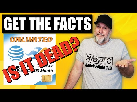 ATu0026T UNLIMITED DATA PLAN IS IT OVER! GET THE INFO