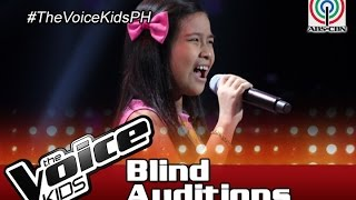 "The Voice Kids Philippines 2016 Blind Auditions: ""Through The Rain"" by Krisha"
