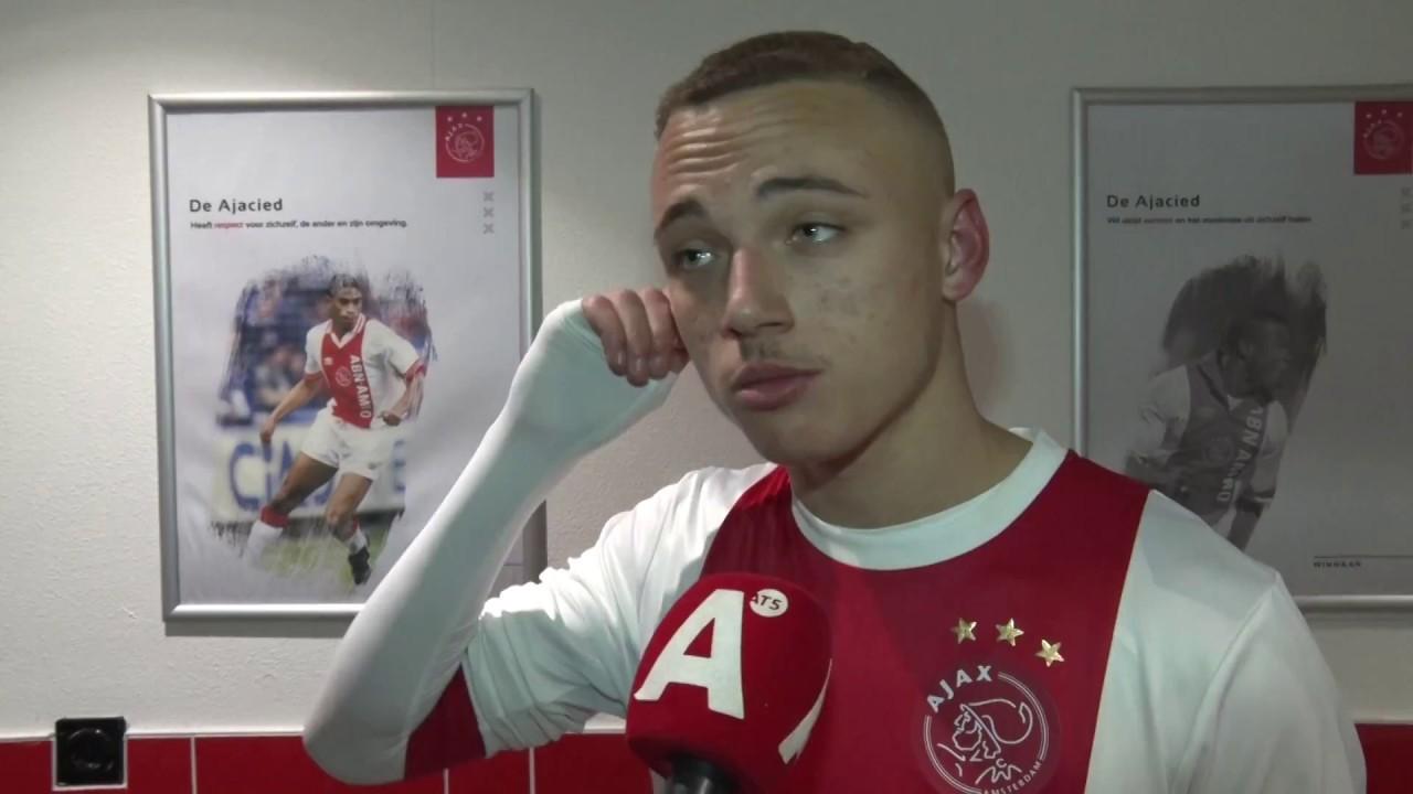 Noa Lang Ik Wil Dit Jaar Debuteren In Ajax 1 Youtube