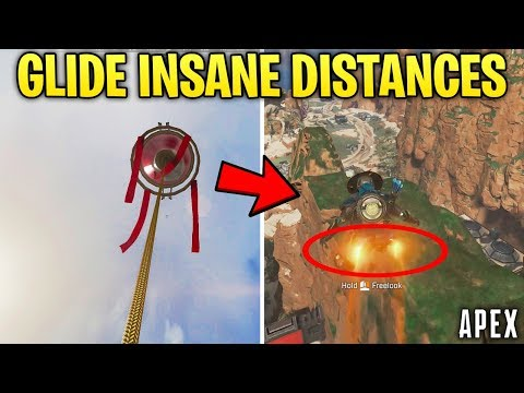 Apex Legends PRO TIP: How to Glide WAY FURTHER From Hot Air Balloons