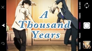 Yuri on Ice (AMV) A Thousand Years