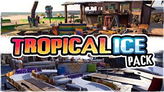 table Top Racing World Tour - NEW Tropical Ice Pack DLC Gameplay