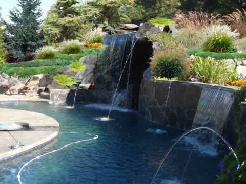 Sheer Descent Fire Pits Spa Water Features 800 766