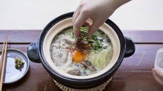 鹽麴豆乳豬肉涮涮鍋|一人前食譜|#10