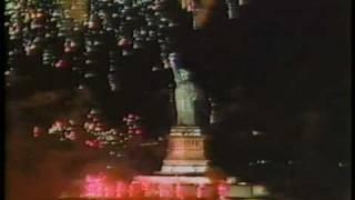 Statue of Liberty Centennial: fireworks