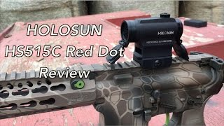 holosun hs515c red dot review