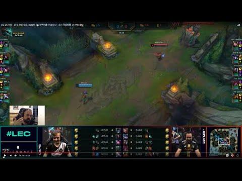 [PapaSmithy VOD Review] LEC Summer 2019 Week 2 G2 Esports vs  Team Vitality