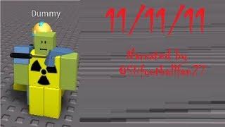 11/11/11 [ROBLOX CREEPYPASTA]