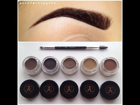 anastasia beverly hills dipbrow pomade sopracciglia perfette youtube. Black Bedroom Furniture Sets. Home Design Ideas
