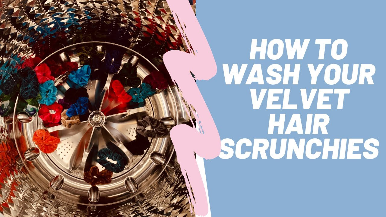How to wash your scrunchies - How to clean scrunchies - Machine wash or Hand-wash?