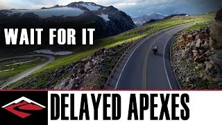 Wait for it: How & Why Delayed Apexes Work for Cornering on a Motorcycle