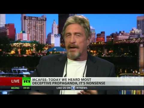Cyber Security Legend John McAfee: Russia Did Not Hack The DNC