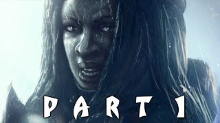 The Walking Dead Michonne Episode 1 - In Too Deep - Walkthrough Gameplay Part 1 (Game)