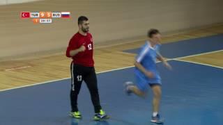 24 07 2017 HANDBALL HIGHLIGHTS MEN TURKEY RUSIA DEAFLYMPICS 2017