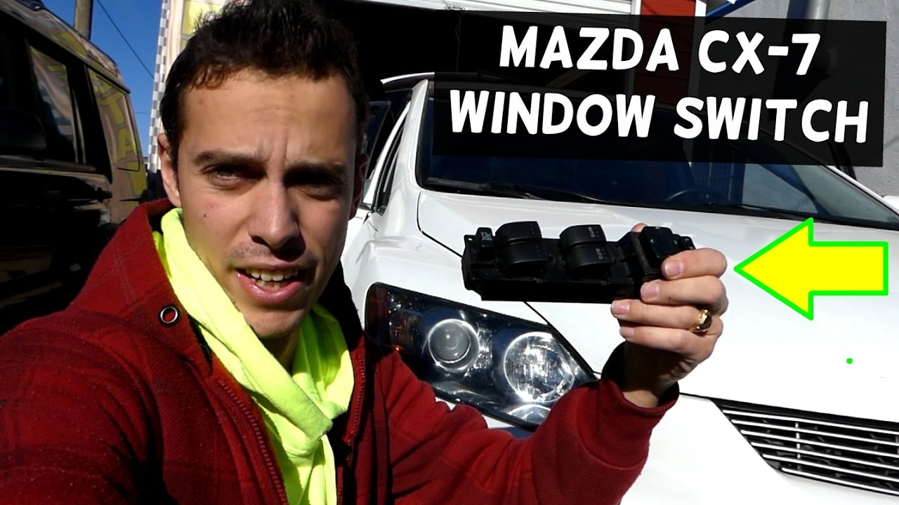 Mazda Cx 7 Master Window Switch Replacement Removal Cx7