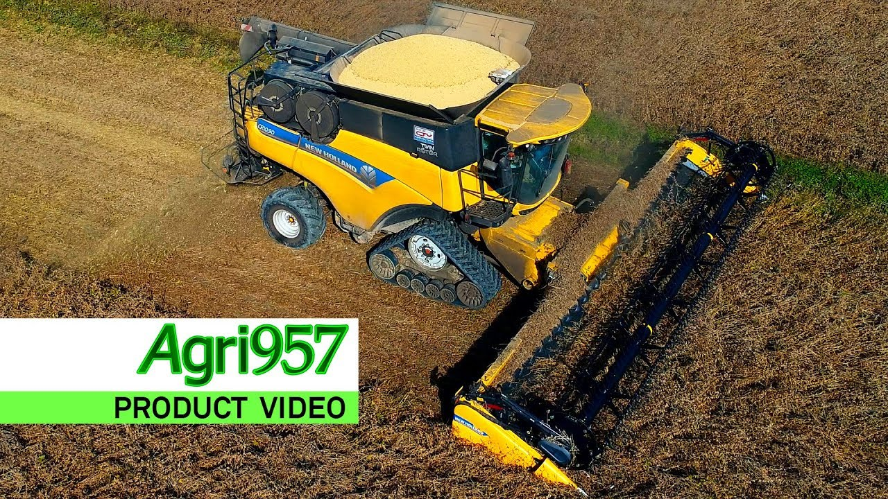 NEW SUPER-FLEX 880CF DRAPER HEADER from NEW HOLLAND - 25 to 45 ft  (10,5 m)  | NEW HOLLAND CR10 90