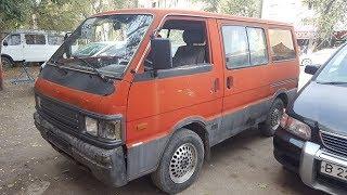 Полная реставрация Mazda Bongo Ford Econovan