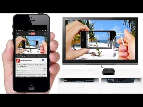 How to AIRPLAY Videos & Mu...