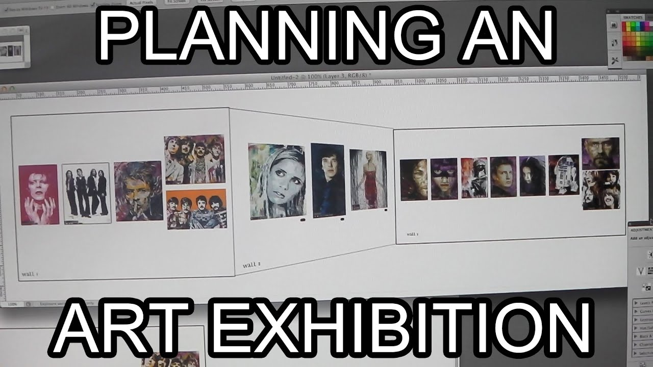 How to arrange an exhibition